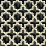 Concrete vent. Seamless pattern Royalty Free Stock Photography