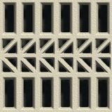 Concrete vent. Seamless pattern Stock Images