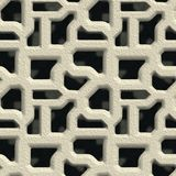 Concrete vent. Seamless pattern Royalty Free Stock Images