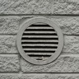 Concrete ventilation element drain lattice Royalty Free Stock Photos