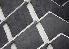 Concrete vloeren in aanbouw royalty-vrije stock afbeelding