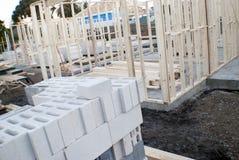 Concrete vloeren en muren Royalty-vrije Stock Afbeelding