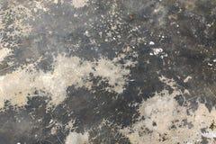 Concrete vloertextuur met barst stock foto