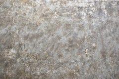 Concrete vlotte textuur van grijze roestige kleur Natuurlijke roestige muur stock foto