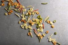 Concrete voedselachtergrond royalty-vrije stock fotografie