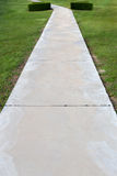 Concrete walk way Stock Photos