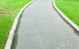 Concrete walkway Royalty Free Stock Photo