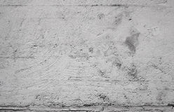 Concrete wall. Closeup gray concrete wall texture with plaster Royalty Free Stock Photos