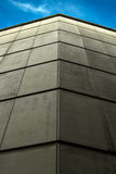 Concrete wall. Gray concrete wall on building Stock Photo