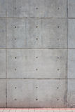 Concrete wall. Pre cast conrete wall with holes Royalty Free Stock Image