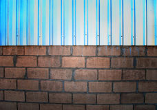 Concrete wall. With abstract colors Stock Image