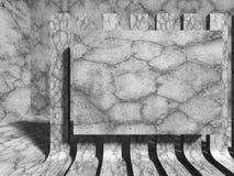 Concrete wall background. Architecture construction. 3d render illustration vector illustration