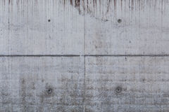 Concrete wall background of a building Royalty Free Stock Photography