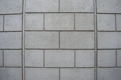 Concrete wall background in grey color. Gray concrete wall background as construction reference Stock Photos