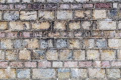 Concrete wall, background. Natural color Royalty Free Stock Image