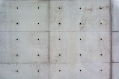 Concrete wall, beton, sichtbeton, wand, work Stock Photography