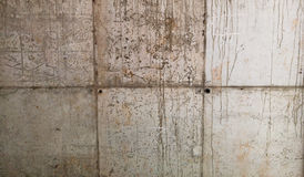 Concrete Wall Block Stock Photo