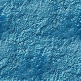 Concrete wall of blue paint drips rough surface Stock Photo
