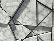 Concrete wall. Chaotic pattern design. Architecture background Royalty Free Stock Images