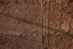 Concrete wall colored with warm tones Royalty Free Stock Photos