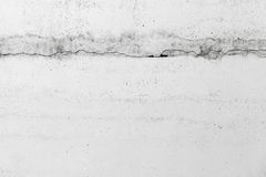 Concrete wall with crack, background texture Stock Image