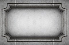 Concrete wall decoration Royalty Free Stock Image
