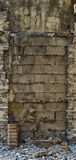 Concrete wall expanded Royalty Free Stock Image