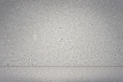 Concrete wall and floor. Grey concrete wall and floor in 3D as a background royalty free illustration