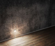 Concrete wall and floor background. Stock Photos