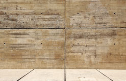 Concrete wall and floor, background Royalty Free Stock Photos