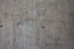 Concrete wall. Gray concrete wall. Textured background Royalty Free Stock Image