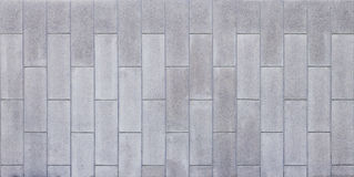 Concrete wall with groove line Royalty Free Stock Photography