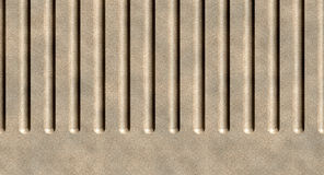 Concrete wall. Grooves in a concrete wall Stock Photos