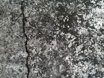 Concrete wall. Image includes a effect the black and white tones Royalty Free Stock Photography