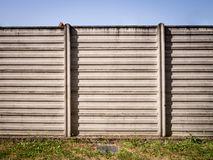 Concrete wall of industrial background Stock Image