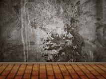 Concrete wall interior Royalty Free Stock Photos