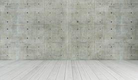 Concrete wall loft style decor, background, template design Stock Photo