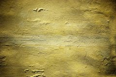 Concrete wall with new plaster texture Stock Images
