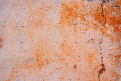Concrete wall with orange spots. Texture concrete wall with orange spots Stock Photography
