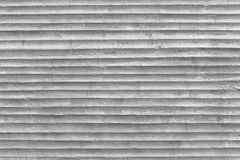 Concrete wall with pattern of plastic tube stamp on concrete Stock Photos