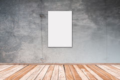 Concrete Wall with Picture 2:3 Royalty Free Stock Images