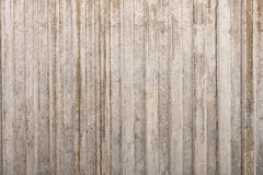 Concrete Wall with Relief Stock Photography