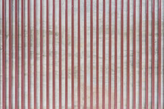 Concrete wall and Steel pattern Stock Photo