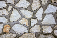 Concrete wall and stone. Close up view royalty free stock photo