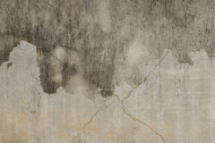 Concrete wall with streaks of Royalty Free Stock Photography