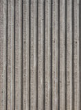 Concrete wall Stripe pattern. Architecture details Royalty Free Stock Photography
