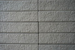 Concrete wall texture. A block wall made of concrete, cement - texture Stock Images