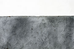 Concrete wall. Texture of concrete wall and white painting wall Royalty Free Stock Photos
