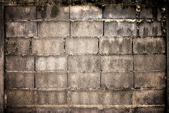 Concrete Wall. A concrete wall for using as background Stock Photo