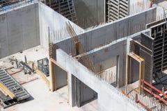 Concrete_walls foto de stock royalty free
